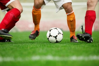 Organization of soccer matches for business